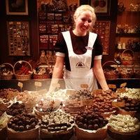 Photo taken at Lviv Handmade Chocolate by Liubov B. on 11/28/2012