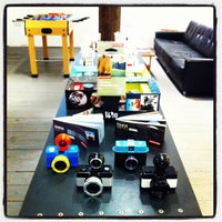 Photo taken at Lomography Gallery Store Manchester by elena p. on 11/3/2012