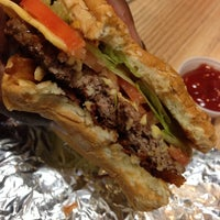 Photo taken at Five Guys by Allonease T. on 3/17/2014