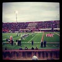 Photo taken at Warren McGuirk Alumni Stadium by Joe on 10/4/2015