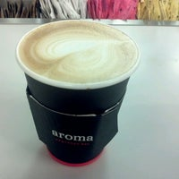 Photo taken at Aroma Espresso by Adella R. on 9/26/2012