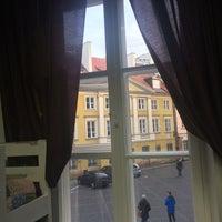 Photo taken at Kanonia Hostel Warsaw by Dana Z. on 12/27/2015