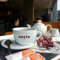 Photo taken at Costa Coffee by M. A. on 4/20/2014