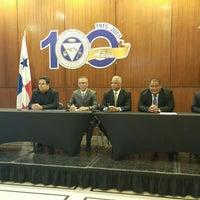 Photo taken at Cámara de Comercio, Industrias y Agricultura de Panamá by Monica P. on 8/11/2015