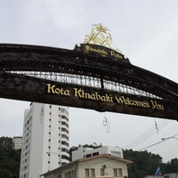 Photo taken at Jesselton Point by نظر شه ع. on 9/16/2012