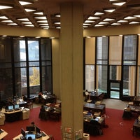 Photo taken at Robarts Library by Avey on 10/27/2012