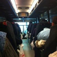 Photo taken at Lucky Star Bus by Drew on 11/15/2012