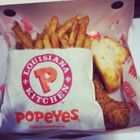 Photo taken at Popeyes by France A. on 9/27/2013