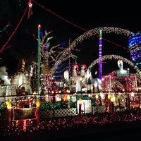 Photo taken at Christmas Light Display (christmasdisplay.org) by Jessica on 12/2/2013