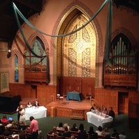 Photo taken at Middle Collegiate Church by Zen R. on 9/27/2013