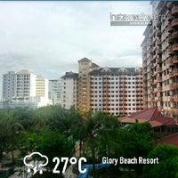Photo taken at Glory Beach Resort by nirelwof on 6/11/2013
