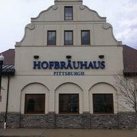 Photo taken at Hofbräuhaus Pittsburgh by Kin L. on 4/8/2013