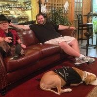 Photo taken at Jenuwine Cigar Lounge by Luigi Francis Shorty R. on 9/10/2014