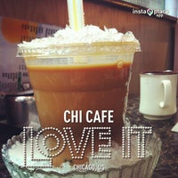 Photo taken at Chi Cafe by Christina T. on 2/28/2013