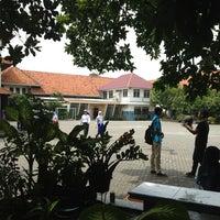 Photo taken at SMA Negeri 2 Surabaya by Eki D. on 2/16/2013