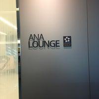 Photo taken at ANA Lounge - Main Bldg. North by Suzuki T. on 1/29/2013