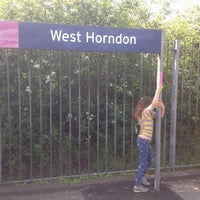 Photo taken at West Horndon Railway Station (WHR) by Mervi V. on 5/5/2014