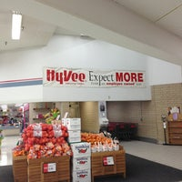 Photo taken at Hy-Vee by Dawn W. on 1/15/2013