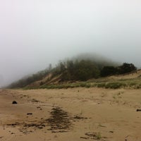 Photo taken at Saugatuck Dunes State Park by Amy M. on 5/11/2013