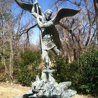 Photo taken at Umlauf Sculpture Garden by Karen C. on 2/1/2013