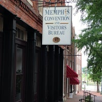 Photo taken at Memphis Convention and Visitors Bureau by David B. on 8/7/2013