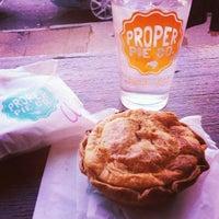 Photo taken at Proper Pie Co. by Jason B. on 12/1/2012