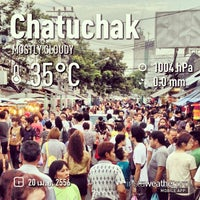 Photo taken at Chatuchak Weekend Market by Chanawat P. on 4/20/2013