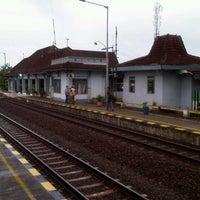 Photo taken at Stasiun Wates by ibNU G. on 11/9/2012