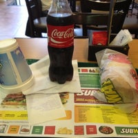 Photo taken at Subway by Raziel Andres B. on 10/10/2012