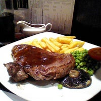 Photo taken at The Ford Madox Brown (Wetherspoon) by Yan L. on 1/22/2013