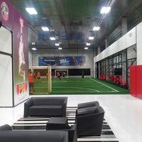 Photo taken at Futbox Futsal Center by Jay on 1/16/2013