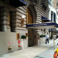 Photo taken at Club Quarters Hotel, opp Rockefeller Center by Stanley X. on 9/30/2012