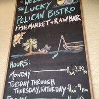 Photo taken at Lucky Pelican Bistro by Angeline S. on 8/29/2013