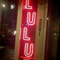 Photo taken at Lulu Cafe by Ike O. on 11/25/2012