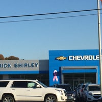 Photo taken at Dick Shirley Chevrolet Cadillac by Jason M. on 10/28/2016