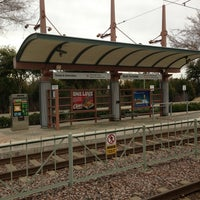 Photo taken at Bush Turnpike Station (DART Rail) by Joel W. on 2/11/2013