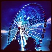 Photo taken at Texas Star Ferris Wheel by Michael M. on 10/5/2012
