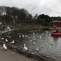 Photo taken at Peasholm Park by kung on 4/8/2016