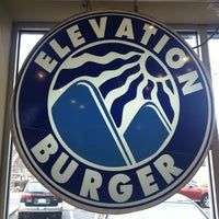 Photo taken at Elevation Burger by Terry B. on 2/7/2013