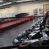 Photo taken at Kart World Belmont by Andrei G. on 3/16/2013