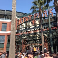 Photo taken at AT&T Park by Betty on 7/20/2013