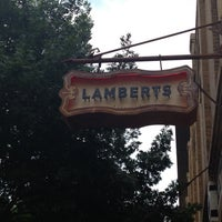 Photo taken at Lambert's Downtown BBQ by Derek C. on 4/15/2013