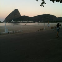 Photo taken at Praia do Flamengo by Marco C. on 4/17/2013