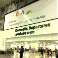 Photo taken at Terminal 3 by Soorjaneel C. on 11/27/2012
