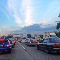 Photo taken at Pasir Gudang Highway by Nur F. on 6/7/2016
