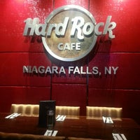 Photo taken at Hard Rock Cafe Niagara Falls USA by Noelle K. on 10/21/2012