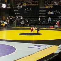 Photo taken at Carver-Hawkeye Arena by Eric T. on 11/24/2012