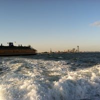 Photo taken at Staten Island Ferry Boat - Andrew J. Barberi by Oleg K. on 10/20/2012
