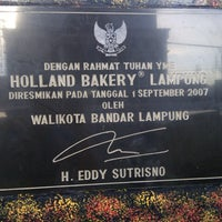 Photo taken at Holland Bakery by August P. on 2/13/2013