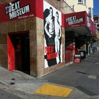 Photo taken at The Beat Museum by Todd S. on 1/26/2013